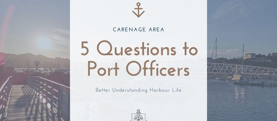 5 Questions aux agents portuaires